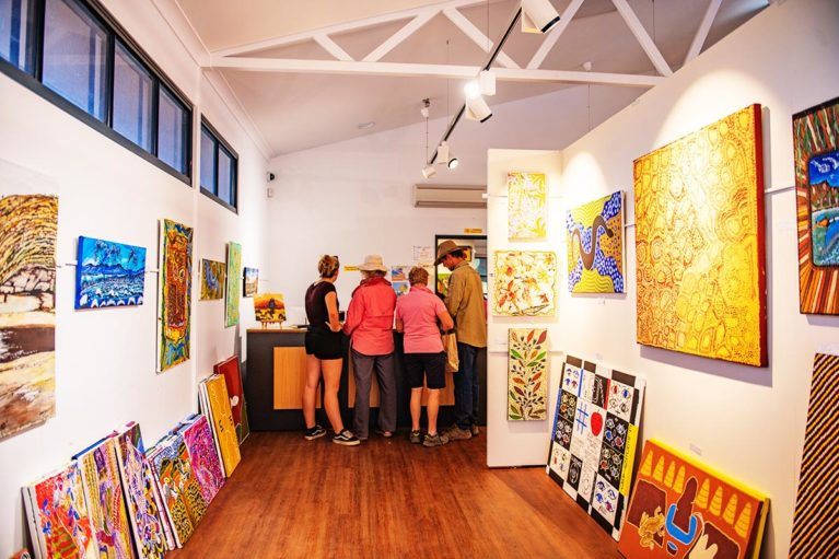 1 Adventure Wild Kimberley Tours support local businesses within the Kimberley region, visiting Yarliyil Art Centre, Halls Creek & other locations - Day 11