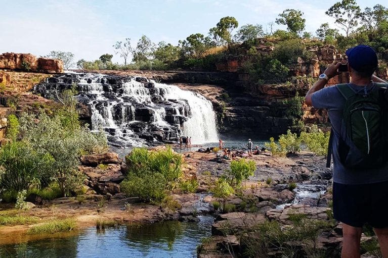 4 The Manning Falls walk is the longest walk on our Adventure Wild Kimberley Adventurer Tour - however it is so worth it!
