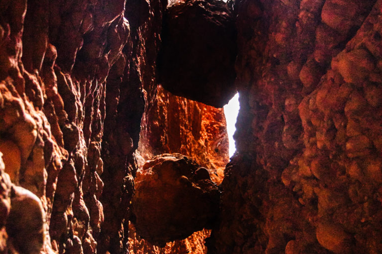 7 Ensure you look up as you walk along the narrow path within Echidna Chasm, Purnululu National Park, the Bungle Bungles_ - Day 10