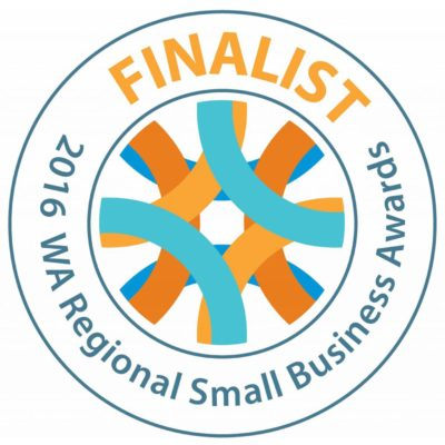 WA Regional Small Business Awards - Finalist - 2016