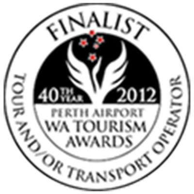 WA Tourism Awards - Tour & Transport Operator - Finalist - 2012