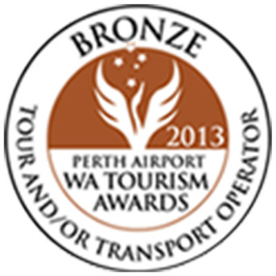 WA Tourism Awards - Tour & Transport Operator - Finalist - 2013-2