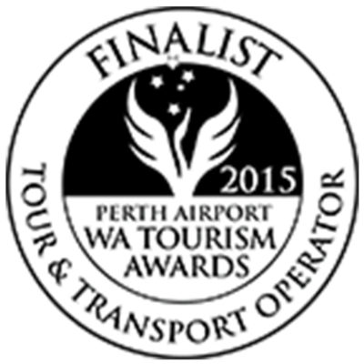 WA Tourism Awards - Tour & Transport Operator - Finalist - 2015